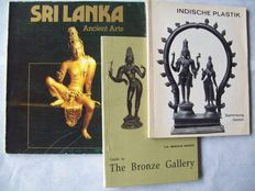 Lot with 6 books on early Indian and Ceylonese art objects - 1962/1994.