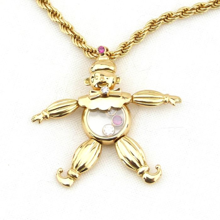 Chopard – Chain and puppet pendant