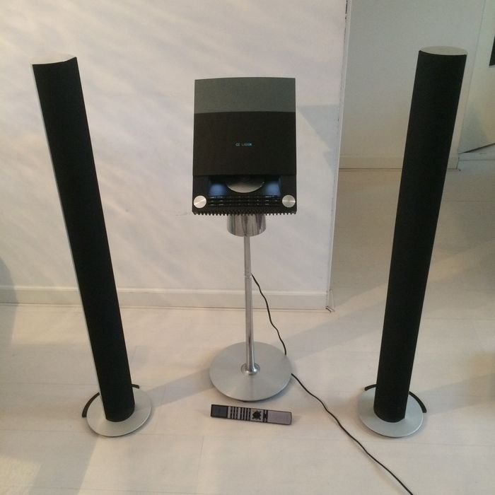 bang and olufsen set beosound 4 sound system with beolab. Black Bedroom Furniture Sets. Home Design Ideas