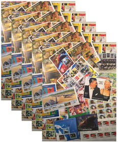 World - Batch of 250 topical stamps