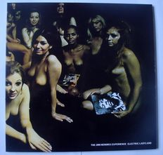 The Jimi Hendrix Experience - 2LP Electric Ladyland - UK Press - Track Records 613008/613009