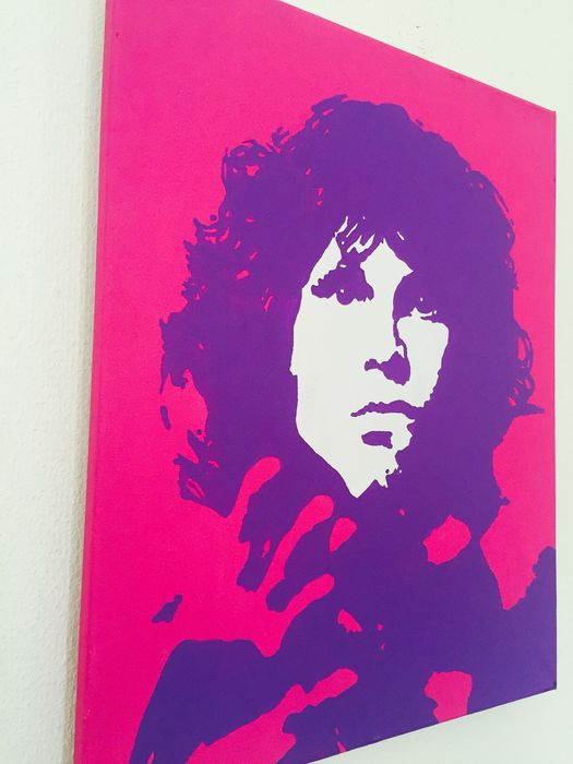 Jim Morrison - Limited Serie POP-ART + Echtheitszertifikat - Catawiki