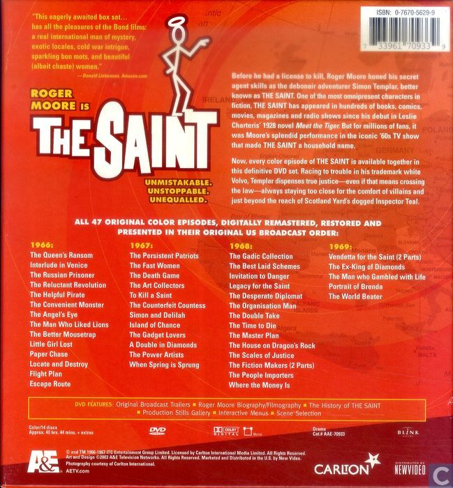 The saint megaset the ultimate collection lege box dvd catawiki enlarge image gumiabroncs Image collections