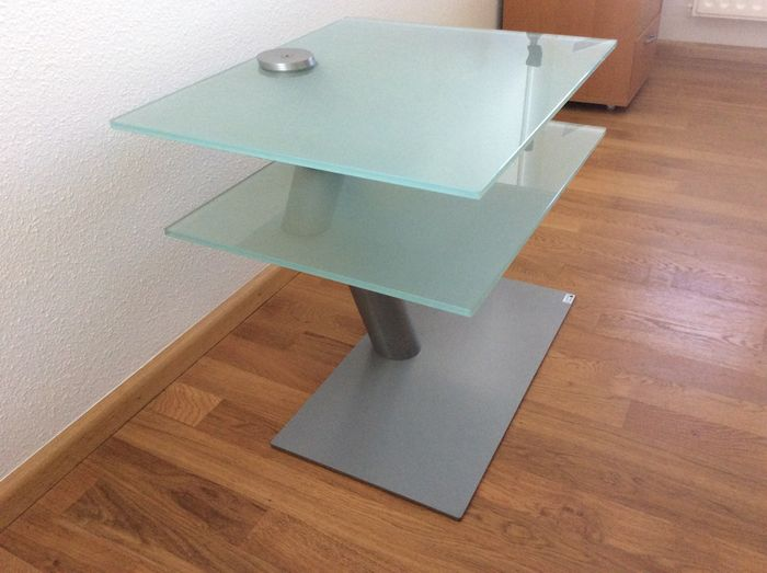 Design Tv Meubel Glas.Lourens Fisher Design Glazen Tv Meubel Catawiki