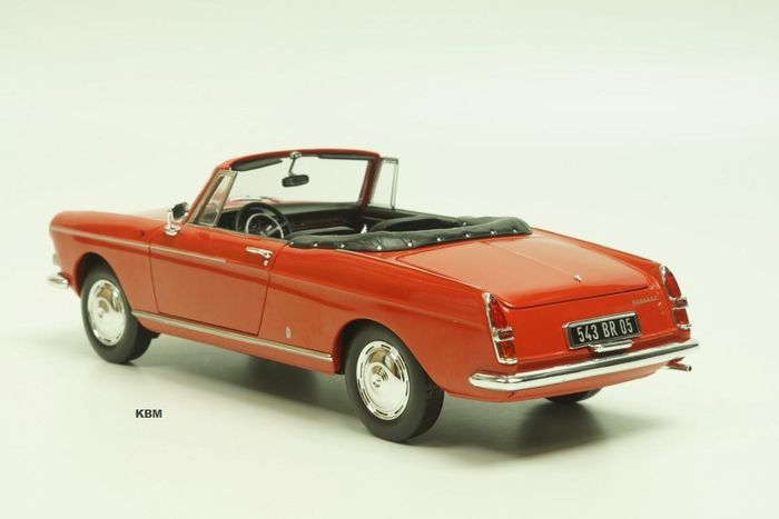 norev scale 1 18 peugeot 404 cabrio 1967 red catawiki. Black Bedroom Furniture Sets. Home Design Ideas