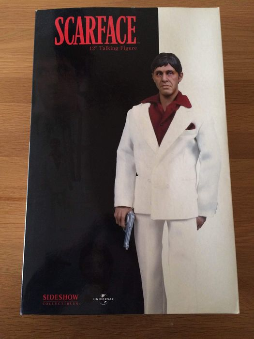 scarface sideshow collectibles 12 inch scarface tony montana