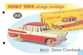 Model cars - Dinky Toys Editions Atlas - Simca Vedette Chambord