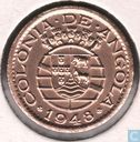 "Angola 20 Centavo 1948 ""300th Anniversary - Revolution of 1648"""
