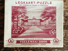 Puzzle The Royal Palace Soestdijk (1937)