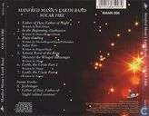 Disques vinyl et CD - Manfred Mann's Earth Band - Solar Fire