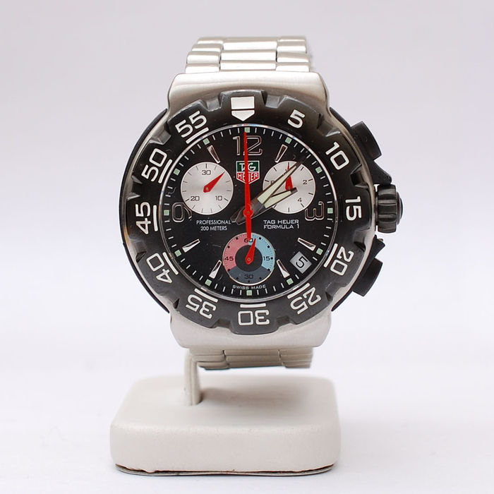 tag heuer 200m professional formula 1 chronograph montre homme catawiki. Black Bedroom Furniture Sets. Home Design Ideas