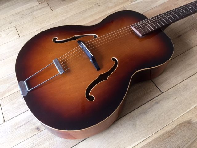 Vintage Zenith Boosey and Hawkes 19 Model 1950's Archtop by Framus