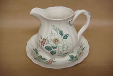 "Copeland Spode - Pitcher with saucer ""Sylvan"""