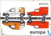 Dutch post cars
