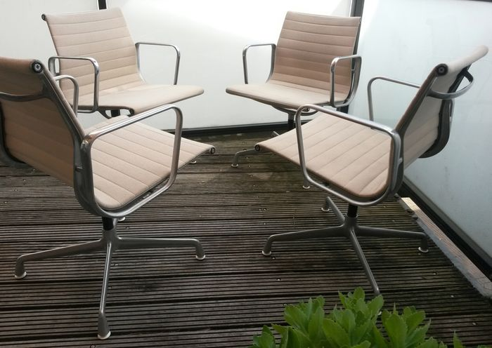 Herman Miller Stoel : Charles ray eames for herman miller ea chairs pieces
