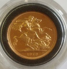 Great Britain - Proof Sovereign 1979 - Elizabeth II - gold