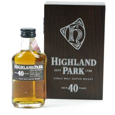 Highland Park 40 years old - 5cl miniature bottle