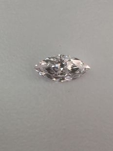 0.60 ct marquise-cut diamond, natural Faint Pink