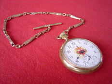 Pocket watch - American - Late 19th to early 20th century.