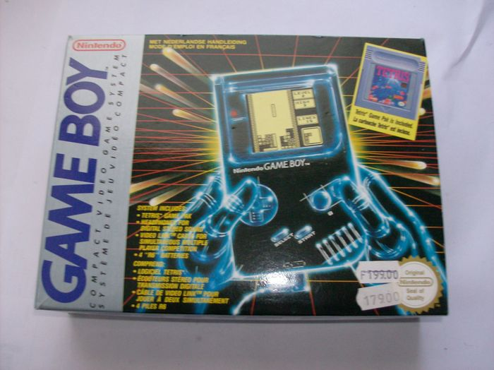 Game Boy Classic Tetris pack, complete in box - Catawiki