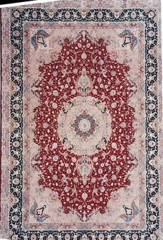 Tabriz Persian Carpet - Circa 1980.