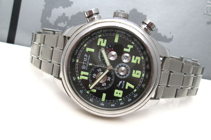 T.U.F International Diver's Chronograph Vintage - Men Watch