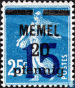 Sower, with double overprint