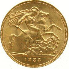 South Africa – Sovereign 1932, George V - gold