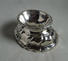 Silver salt cellar, Germany, Augsburg, 1759-1761