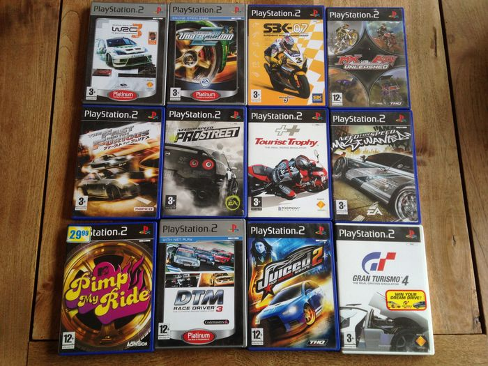 Collection of 12 Playstation 2 racing games!! - Catawiki