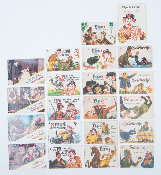 Advertising Booklets Lot With 21 Publications Of Pipo The