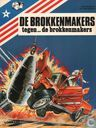 Comic Books - Brokkenmakers, De [Denayer] - De brokkenmakers tegen... de brokkenmakers
