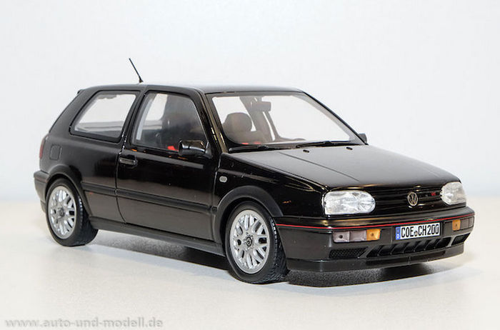 norev scale 1 18 volkswagen golf 3 gti 1996 black. Black Bedroom Furniture Sets. Home Design Ideas