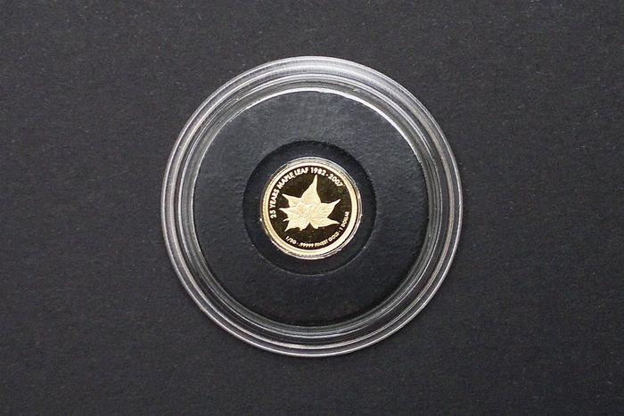 Cook Islands - 1 Dollar 2007 25 Jahre Maple Leaf - Gold