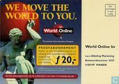 "A000784 - World Online ""We Move The World To You"""
