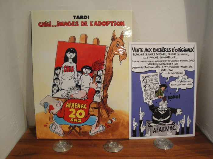 Tardi, Jacques - Afaenac 20 ans - Hardcover - First edition (2013)