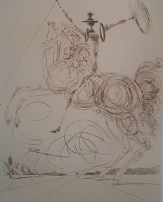 Salvador Dali (after) - Don Quichotte