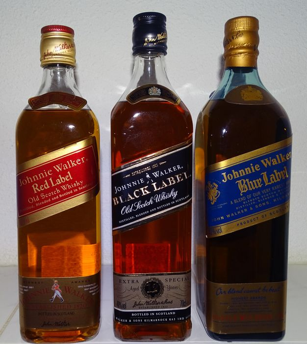 This is a photo of Lively Black Label Red Label Difference