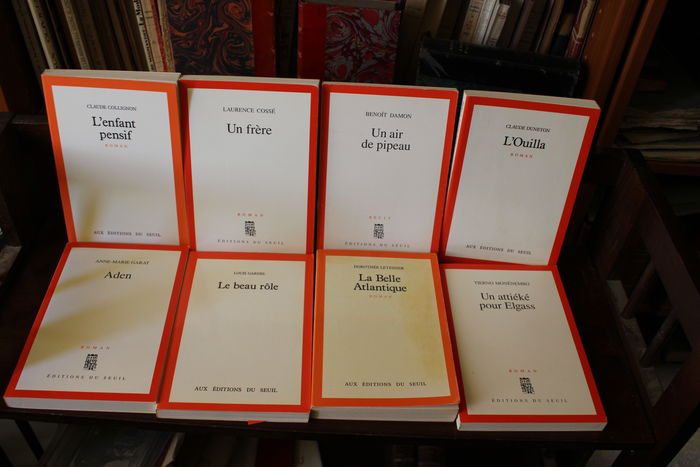 Set of 8 novels by the Seuil editions - 1986 to 1994 - Catawiki