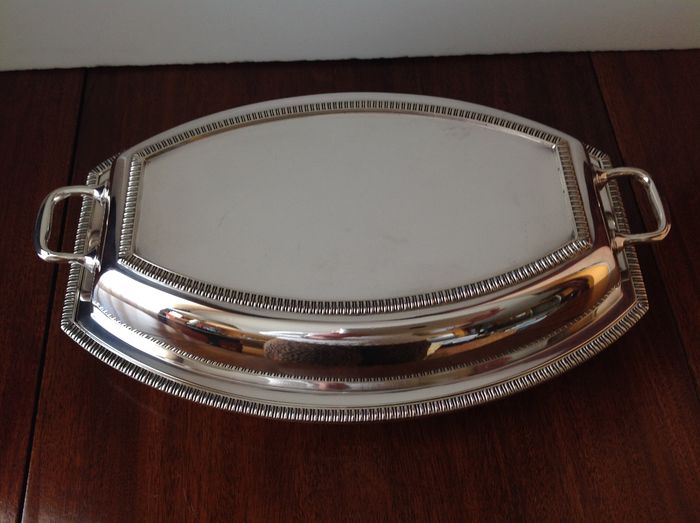 Silver Plated Serving Dish, Pidduck Hanley & Southport, circa 1935
