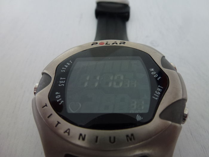 2 X Polar M71ti A5 Sport Watch With Heart Rate Monitor 21th Century