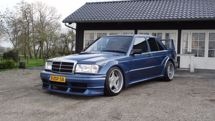 Mercedes Benz 190 3 6 Amg Evo R 233 Plique 1991 Catawiki