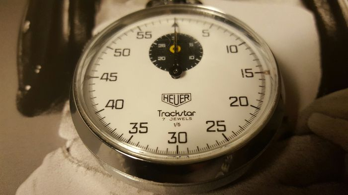 Heuer Stopwatch, Trackstar - Swiss Made