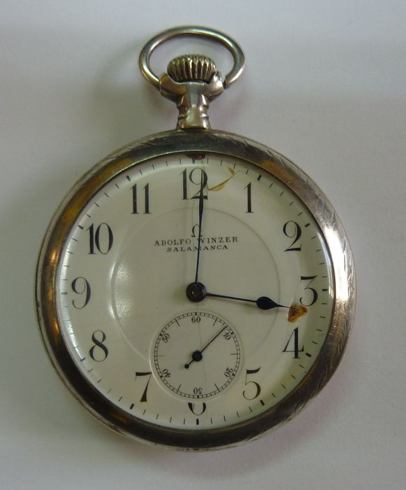 I have an old Pocket Watch. It has engraved OMEGA Grand ...