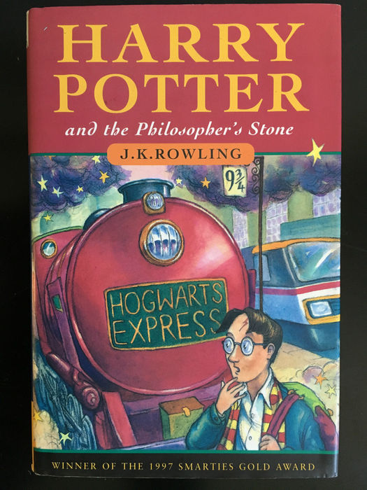 Harry Potter And The Philosophers Stone First Edition Jk
