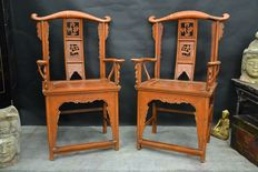 Chairs with armrest, antiquity - China - around 1900 century