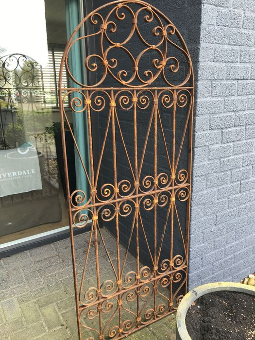 Wrought Iron Garden Gate   19th Century