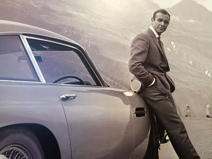 James Bond Goldfinger Sean Connery Large Photo Art Catawiki