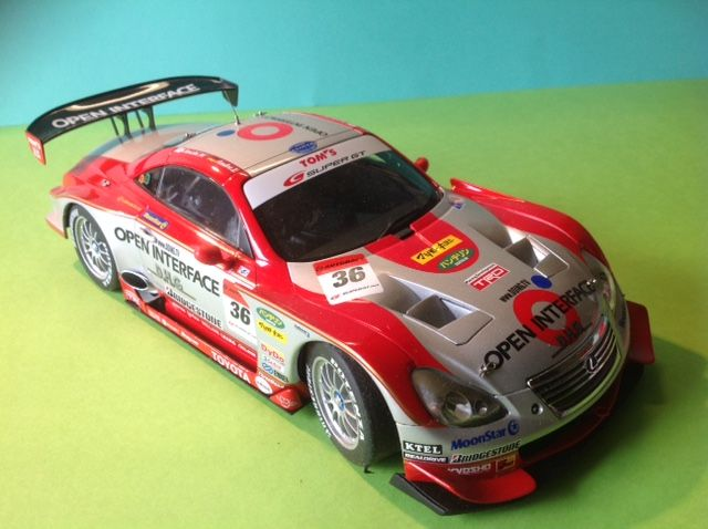 Autoart - Scale 1/18 - Lexus SC 430 Super GT 2006 - Open Interface TOM'S SC 430
