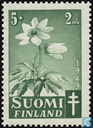 Postage Stamps - Finland - Wood anemone
